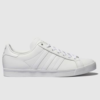 Adidas White & grey Coast Star Womens Trainers