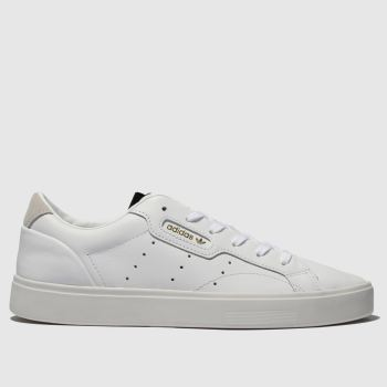 Adidas White Sleek W c2namevalue::Womens Trainers