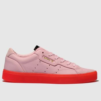 Adidas Pink Sleek W Womens Trainers