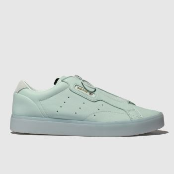 online store 44212 f402b Adidas Green Sleek Z Womens Trainers