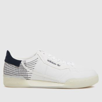 adidas White Continental 80 Primeblue Womens Trainers