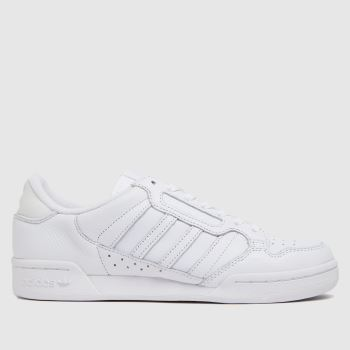 adidas White Continental 80 Stripe Womens Trainers