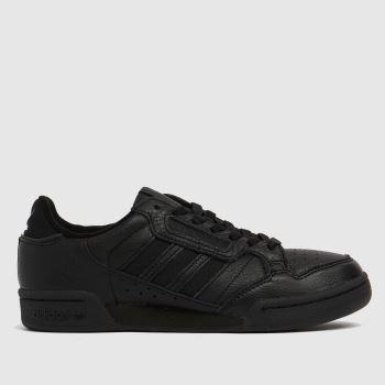 adidas Black Continental 80 Stripe Womens Trainers