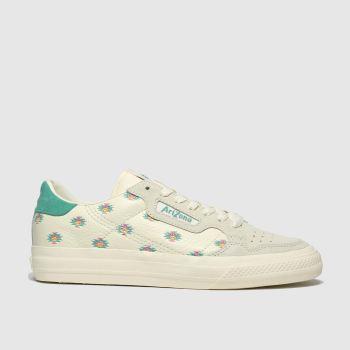 Adidas Naturfarben Continental Vulc X Arizona Damen Sneaker