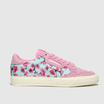 Adidas Pink Continental Vulc X Arizona Womens Trainers