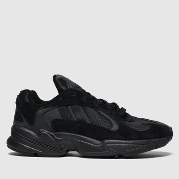 Adidas Black Yung-1 c2namevalue::Womens Trainers