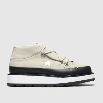 Converse Naturfarben One Star Boot Damen Sneaker