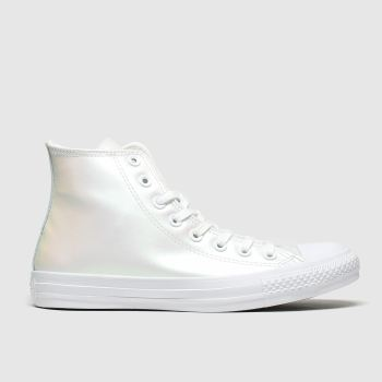 Converse White Chuck Taylor All Star Hi Womens Trainers