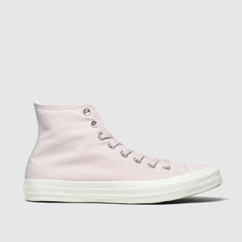 Converse Pale Pink All Star Hi Womens Trainers