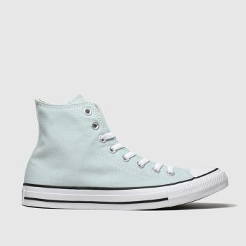Converse Pale Blue All Star Hi Womens Trainers