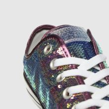 Converse All Star Mini Sequins Ox 1