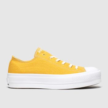 Converse Yellow Renew Lift Trainers