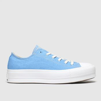 Converse Blue Renew Lift Womens Trainers