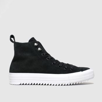 Converse Black & White Hiker Final Frontier Hi Womens Trainers