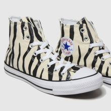 Converse All Star Zebra Print Hi 1