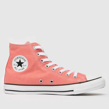 Converse Pink Cons Stas Hi Womens Trainers