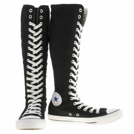 Converse Black Shoes Online