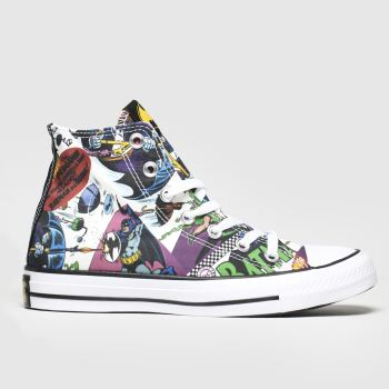 Converse Multi All Star Hi Batman Womens Trainers