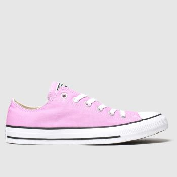 Converse Pink Ox Womens Trainers