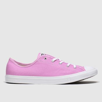 Converse Pink Ctas Dainty c2namevalue::Womens Trainers
