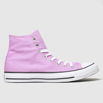 Converse Pink Hi c2namevalue::Womens Trainers