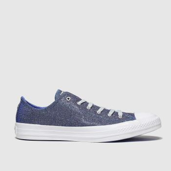 Converse Blue All Star Starware Ox Womens Trainers