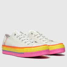 Converse All Star Lift Rainbow Ox 1