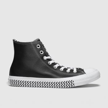 Converse Black & White All Star Vltg Hi Womens Trainers