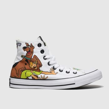 Converse multi all star hi scooby vs villains trainers