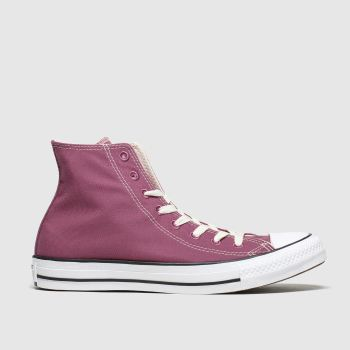Converse Burgundy All Star Renew Hi Womens Trainers