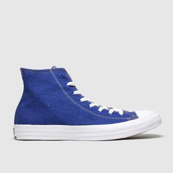 Converse Blue Renew Hi Trainers