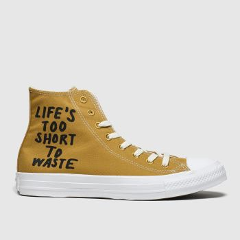 Converse Tan Chuck Taylor All Star Renew Hi Womens Trainers