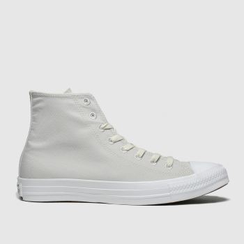 Converse Light Grey Chuck Taylor All Star Renew Hi Womens Trainers