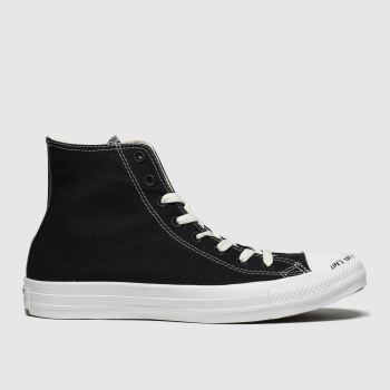 Converse Black & White Chuck Taylor All Star Renew Hi Womens Trainers