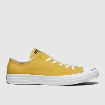 Converse Yellow Chuck Taylor All Star Renew Ox Womens Trainers