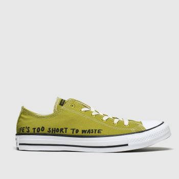 Converse Dark Green All Star Renew Ox Womens Trainers