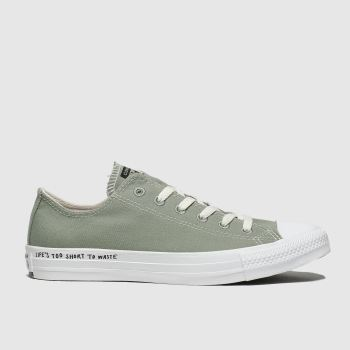 Converse Khaki Chuck Taylor All Star Renew Ox Womens Trainers