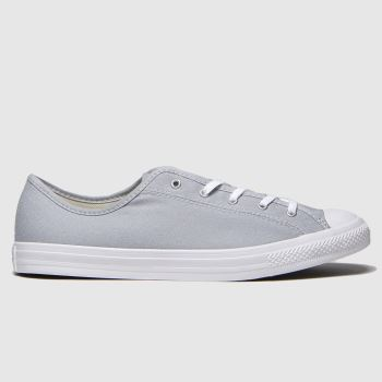 Converse Light Grey All Star Dainty Womens Trainers#