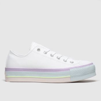 Converse Multi All Star Lift Ox Womens Trainers