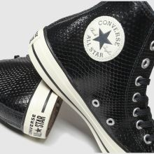 Converse all star metallic snake hi 1