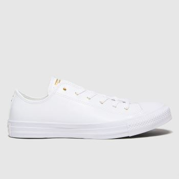 Converse White Craft Ox Womens Trainers