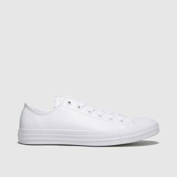 Converse White All Star Mono Ox Womens Trainers