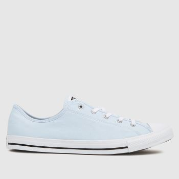 Converse Pale Blue Dainty Ox Womens Trainers