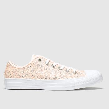 Converse Pale Pink Chunky Glitter Ox c2namevalue::Womens Trainers