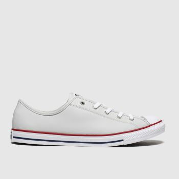 Converse Light Grey Dainty Gs Womens Trainers