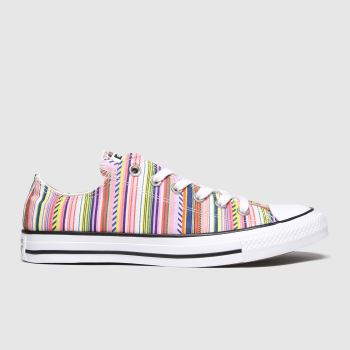 Converse Multi All Star Festival Ox Womens Trainers