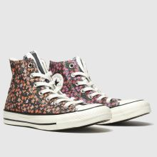 Converse All Star Sunblocked Floral Hi 1