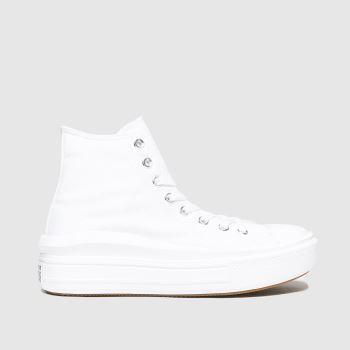 Converse White Cons Ctas Move Platform Hi Womens Trainers#