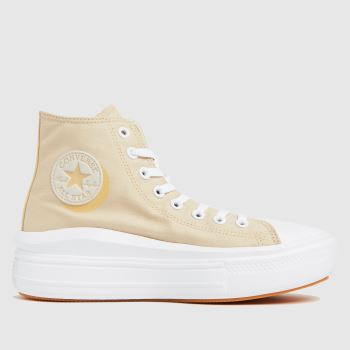 Converse Natural Move Platform Hi Womens Trainers