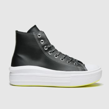 Converse Black Move Platform Hi Womens Trainers